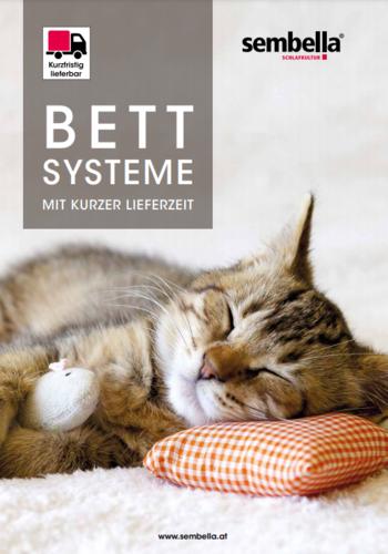 Bettsysteme mit kurzer Lieferzeit