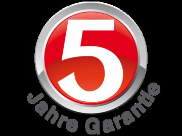 5 Jahre Garantie auf Elektrogeräte